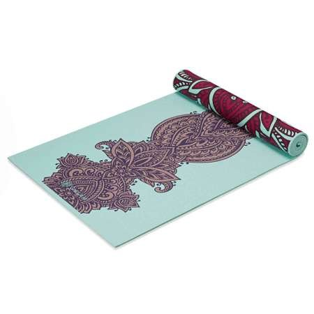GAIAM Ara Rouge 6mm - 63368 - Mata do jogi dwustronna