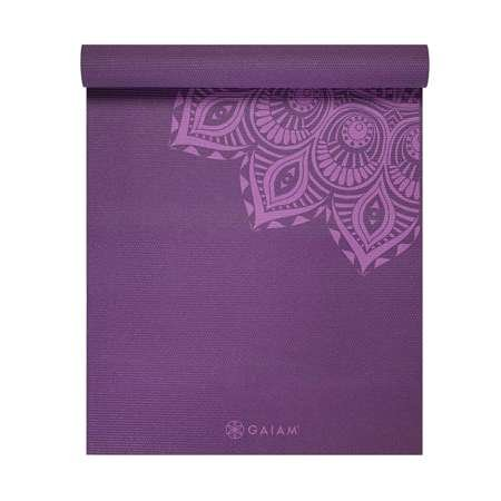 GAIAM Purple Mandala 6mm - 62202 - Mata do jogi